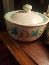 Collectors Classic TULIP Franciscan Covered Dish Bowl Stoneware 1464 TV Mark