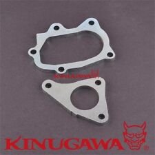 Turbo inlet / Outlet Flange kit for SUBARU EJ20 EJ25 Impreza STI WRX