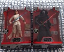 "StarWars Elite Series 10"" The Force Awakens Kylo Ren Rey Disney Sith Lot MISB"