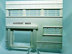 Plasticville Hospital Accident Ward O-S Scale HTF