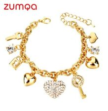 Key Friendship Charm Bracelet by ZUMQA