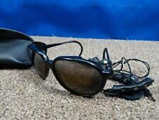 Vintage glacier black Nylon Glass Japan Sunglasses