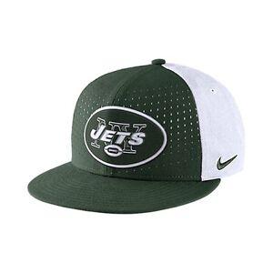 NIKE NFL NEW YORK JETS Laser Pulse True Hat Adult Snapback Cap Green Adjustable