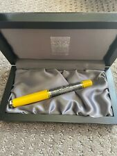 Special Edition Yellow Toledo Pelikan M910 Fountain Pen Nice 18k Gold Nib