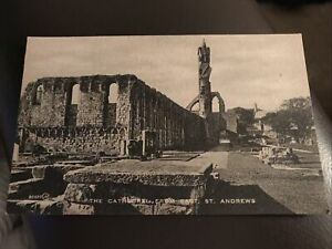 Vintage Postcard - The Cathedral From East - St Andrews - D13