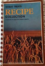 Vintage Wheat Treats Recipe Collection Cookbook Montana Grain Growers Assoc. '78