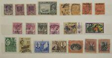 Burma , Nth Borneo Stamps small lot