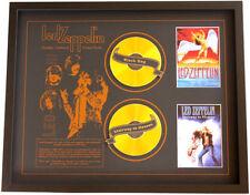 New Led Zeppelin CD Memorabilia Framed
