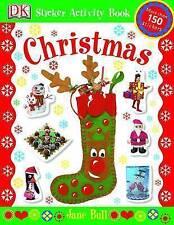 Christmas (Sticker Activity Books), Jane Bull, New Book