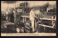 BRASSERIE théme LA BIERE CPA 59 MONS EN BAROEUL la brasserie mise en bouteilles