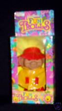 Raincoat Troll Doll Boy Fun Trolls Raincoat Slicker Galoshes New in Box Mint
