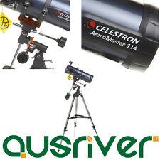 Celestron Astronomical AstroMaster 114EQ Telescope Built-on StarPointer 31042