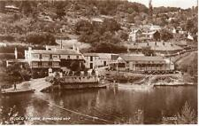 Ye Old Ferrie Inn Pub Ferry Symonds Yat unused RP old pc 1939 Valentines