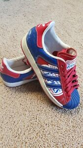 Adidas Superstar NBA Series Los Angeles Clippers Shoes Rare!