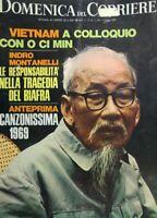 DOMENICA DEL CORRIERE N.24 1969 O CI MIN CANZONISSIMA