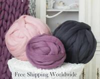 Chunky Yarn SALE! Merino Wool Roving Giant Yarn For Arm Knitting Chunky Knit
