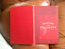 hc Selections from Epictetus - Wisdom Series - 1890