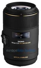 Sigma ex 105 f 2.8 macro macro DG OS HSM para Canon EOS 105mm 2,8 mercancía nueva
