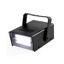 Mini Strobe Light 24 High-Power LED Stage Lighting for Club House Party (White)