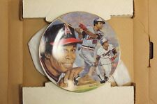 """Gartlan Rod Carew Collectibles Ceramic Plate """"Hitting for the Hall"""""""