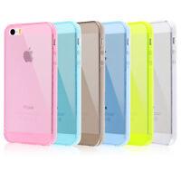 Carcasa Silicona Funda de Gel TPU Trasera Ultra Slim para Apple iPhone 5 5S 5G