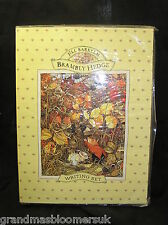 BRAMBLY HEDGE AUTUMN WRITING SET 1996 NEW UNUSED JILL BARKLEM PAPER & ENVELOPES
