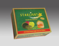 100 Disk STARLIGHT APPLE TREE 33 mm Instant Charcoal incense frankincense Hookah