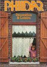Vintage 80' Crochet - Phildar Décorations & loisirs n°6
