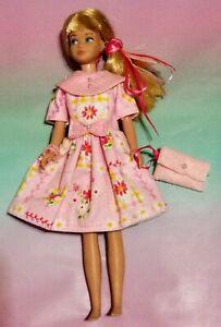 """Barbie's Little Sister Skipper """"SPRINGTIME FLOWER DRESS """"   Very Nice"""