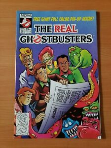 The Real Ghostbusters #23 ~ NEAR MINT NM ~ 1990 NOW Comics
