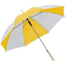Automatik-Regenschirm / Farbe: weiss-gelb