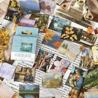 45 teile/satz Washi Papier Aufkleber Reise Floral Scrapbooking C6A6 Dec Tag L0Z1