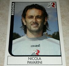 FIGURINA CALCIATORI PANINI 2005/06 REGGINA PAVARINI ALBUM 2006