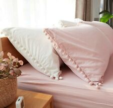 2 PCs Indian handmade bohemian pillow cases covers hippie cushion cover shams