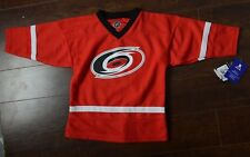 Eric Staal Carolina Hurricanes Hockey Jersey Red NHL Youth 4/5 #12