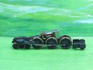 Kit Built 4-6-2 West Country Battle of Britain loco chassis & working motor