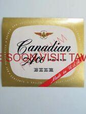$1 Label Canadian Ace Premium Beer Tavern Trove