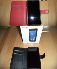 2 Stück Sony Experia E4g, schwarz und weiss mit Zubehörpaket