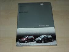 56137) Mercedes R-Klasse B-Klasse Pressemappe 05/2008