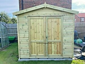 GARDEN SHED SECURITY WORKSHOP HEAVY DUTY GYM TOOL STORE DELIVERY 8-12 WEEKS