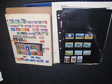 Mix Of Collection Remnants On Stock And Album Pages Nice Group Lot 3