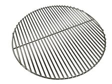More details for heavy duty 6mm stainless steel round bbq grill 54.5cm - fits weber 57cm