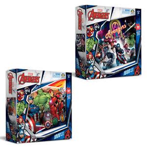 1000pc Marvel Avengers 68.5 x 50.5cm Kids Jigsaw Puzzle 8y+