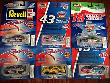 6 Revell Racing Diecast Cars Pennzoil, Interstate, Etc. - Scale 1:64