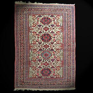 Schirwan Teppich 200x142 cm  Wolle Old shirvan Rug Tapis tappeto carpet wool