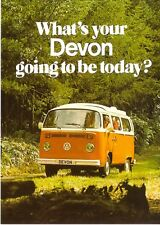 VW Devon Camper Van - c1968 New Jumbo Fridge Magnet