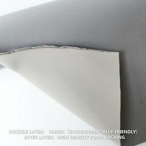 120cm x 150cm Headliner Replacement Fabric Foam Backing Car Roof Lining Material