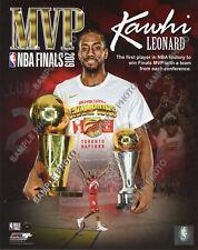 Kawhi Leonard Raptors MVP 2019 NBA Finals Champions Portrait Plus 8x10 Photo