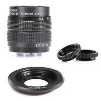 FUJIAN CCTV 35mm f1.7 Lens MC For Micro 4/3 GF3 GF5 E-PL3 E-P3 E-PM1+adapter rin