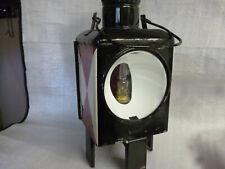 alte DB Zuglaterne 80er Zugschlusslaterne Petroleumlampe Eisenbahnlampe Zuglampe